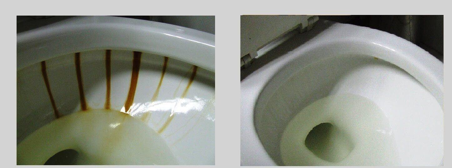 Siyahlaşmış Tuvalet Taşı Nasıl Beyazlatılır?