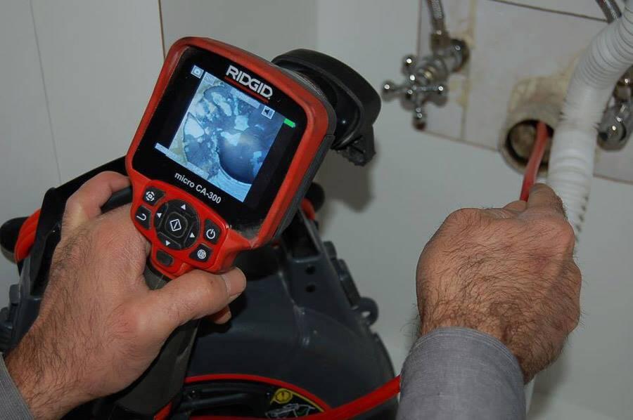 Cihazlı Kamera İle Su Kaçağı Bulma